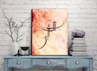 رائع الفنان مرسومة باليد عالية الجودة paintting زيت على قماش اليدوية العربي الإسلامي الإسلامي جدار الصور البوب الفن المنزل ديكور