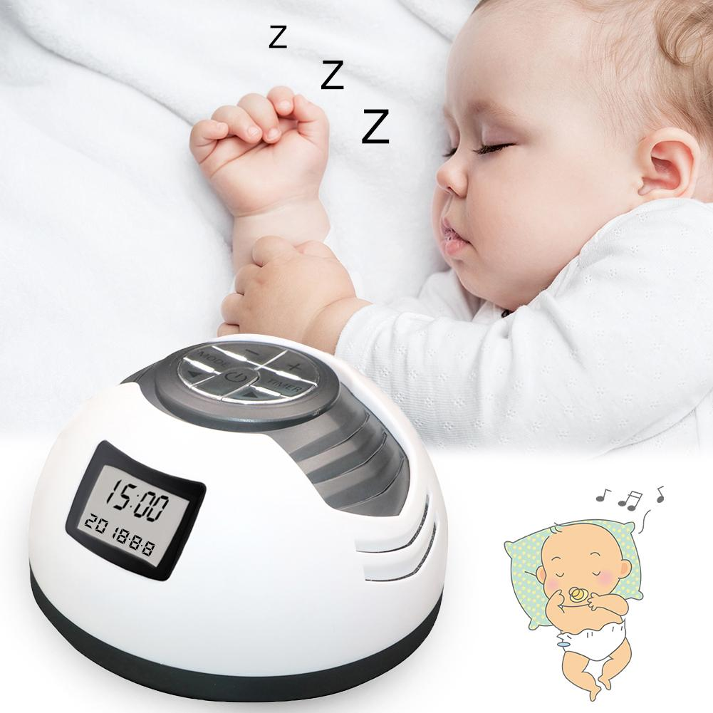 Bebe Sleep Soother Baby's High Sound Quality Timing Music Sleep Aid Device White Noise Machine Sound Machine Music Player baby therapy sound machine white noise portable sleep soother machine record voice sensor soothing music sleep therapy regulator