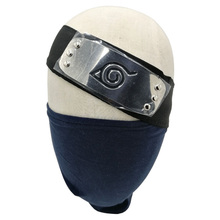 Cosplay Accessories Set of Anime NARUTO Hatake Kakashi Cotton Face Mask & Headband for Gift