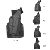 Tactical Holster Military Special Forces Quick Release Right Hand Paddle Gear Safariland Leg Holster Gun M9