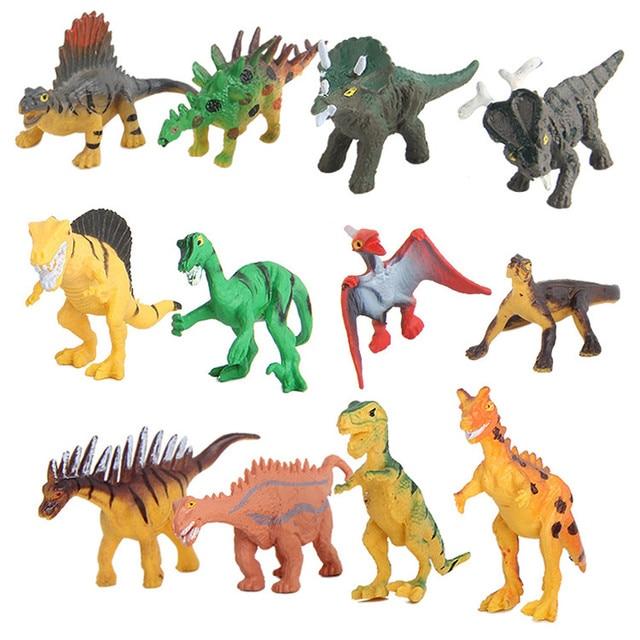 12 PC Modelo de Dinossauro Simulado Biologia Educacional Brinquedo das Crianças Das Crianças Dos Miúdos Meninos Dinossauro de Brinquedo de Presente #40