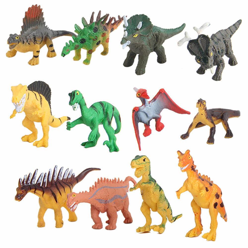 12PC dei bambini Giocattolo Biologia Educativi Simulato Modello di Dinosauro Per Bambini Bambini Ragazzi Dinosauro Giocattolo Regalo #40