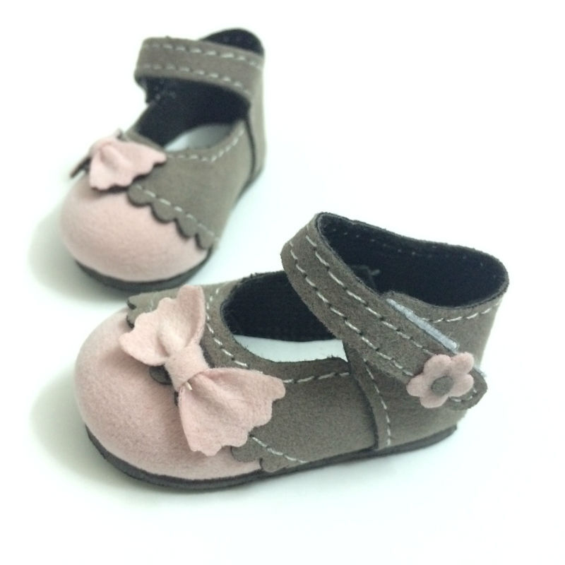 6 CM BJD Doll Shoes Causal Snickers Shoes Accessories for Dolls,Mini - Dolls and Stuffed Toys