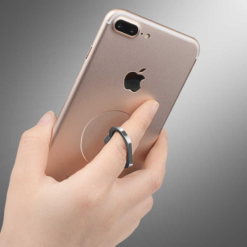 العالمي الدعامات حامل هاتف المحمول حامل البنصر المغناطيسي ل لطيف خلية هاتف ذكي حامل شفاف آيفون XS ماكس 8