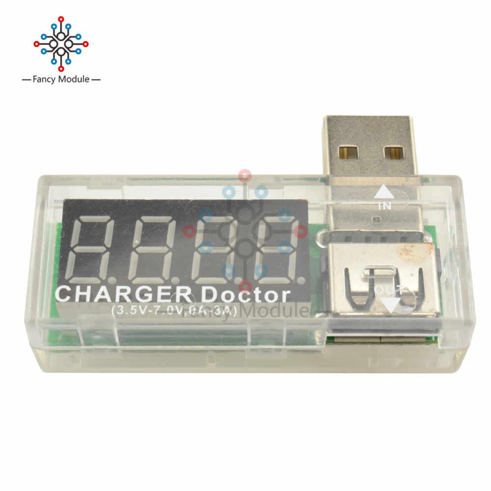Chargeur USB docteur tension compteur de courant testeur de batterie détecteur de puissance