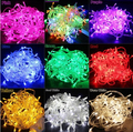 100 LED 10m String Decoration Light for Christmas Party Wedding Garland Lighting Led Lights outdoor 110V Ships from CA