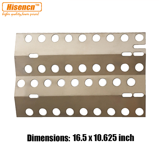 Hisencn 16 5 Inch Bbq Replacement Stainless Steel Heat Plate Burner