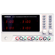 KORAD KA3303P fuente de alimentación regulada por CC ajustable, programable de tres vías, interfaz USB, función de Control remoto, datos sincrónicos