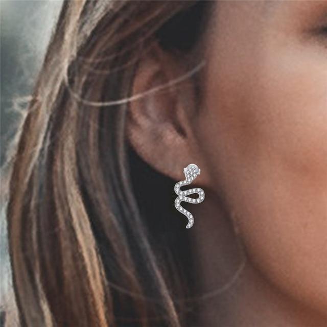 ROXI Snake Earrings For Women Silver Color Punk Earings Fashion Jewelry bijoux Animal Ear Party Accessories.jpg 640x640 - ROXI Snake Earrings For Women Silver Color Punk Earings Fashion Jewelry bijoux Animal Ear Party Accessories boucle d'oreille