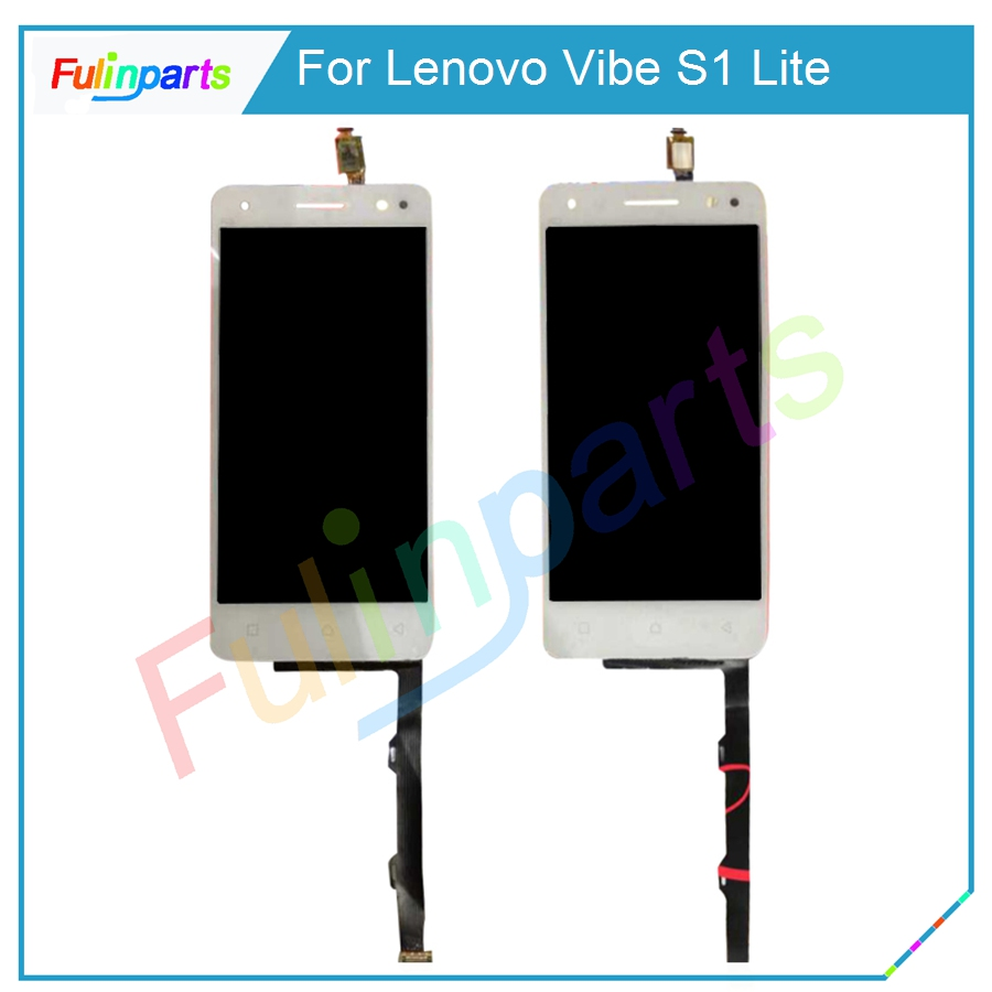 for lenovo vibe s1 lite lcd display touch screen test good. Black Bedroom Furniture Sets. Home Design Ideas
