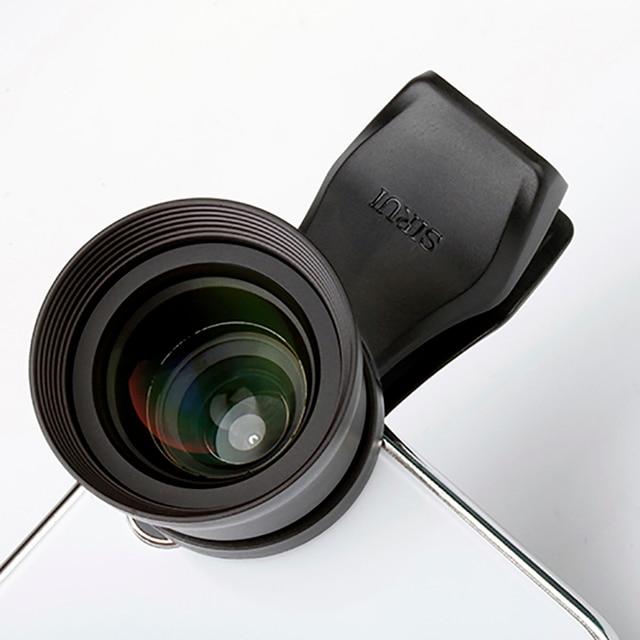 Sirui 60mm דיוקן נייד טלפון עדשה עם קליפ HD 4 K טלה עדשות עבור iPhone מקס Xs X פיקסל 3 סמסונג S8 S9 Huawei P20 פרו