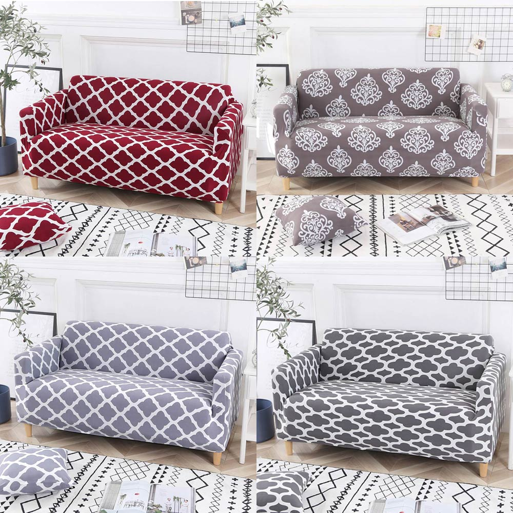 Image 2 - Svetanya strech Sofa Cover L sectional Slipcovers printed-in Sofa Cover from Home & Garden