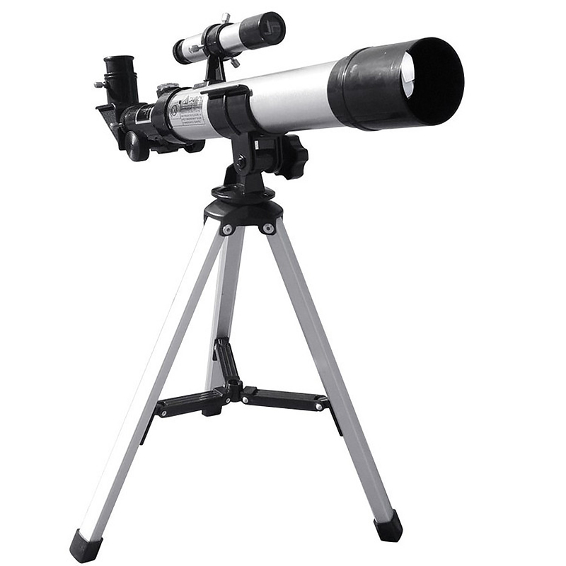 HD 32X Refractive Astronomical Telescope with Finderscope F40040 Monocular Refractor Telescope for Student Children Beginner Use