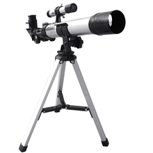 цена на HD 32X Refractive Astronomical Telescope with Finderscope F40040 Monocular Refractor Telescope for Student Children Beginner Use