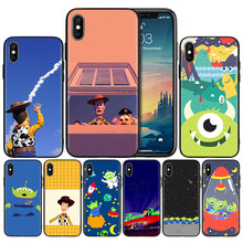 Toy Story Pizza Planet couvercle de boitier en silicone souple pour iPhone X XS XR XS 11 11Pro Max 7 8 6 6S 5 5S 5C SE Plus étui Fundas Capa(China)