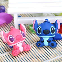 2016 New Stitch USB flash drives 64GB 32GB 16GB 8GB Pen card External storage cartoon usb drive The best gift