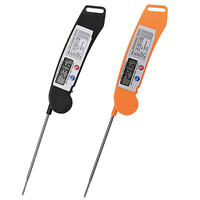 Digital LCD Food BBQ Meat Chocolate Oven Cooking Probe Thermometer Kitchen Grill Thermometer