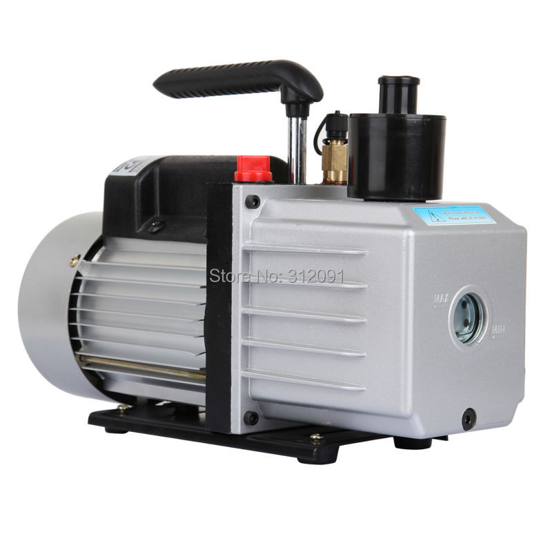 (Ship from US ) Electric 8CFM Rotary Vane Deep HVAC Air Conditioning Refrigeration Vacuum Pump 3/4HP 1l s 2 12cfm r134a rotary vane single stage mini vacuum pump for vacuum refrigeration air conditioning refrigerator
