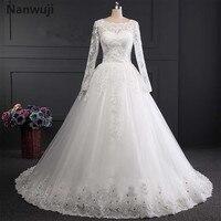 Real Photo Robe De Mariage White Ivory US2 4 6 8 10 12 Plus Size Wedding