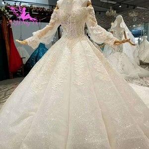 Image 3 - AIJINGYU свадебное платье и роскошные платья дешевые рядом со мной кружева индийские красивые платья свадебное платье принцессы