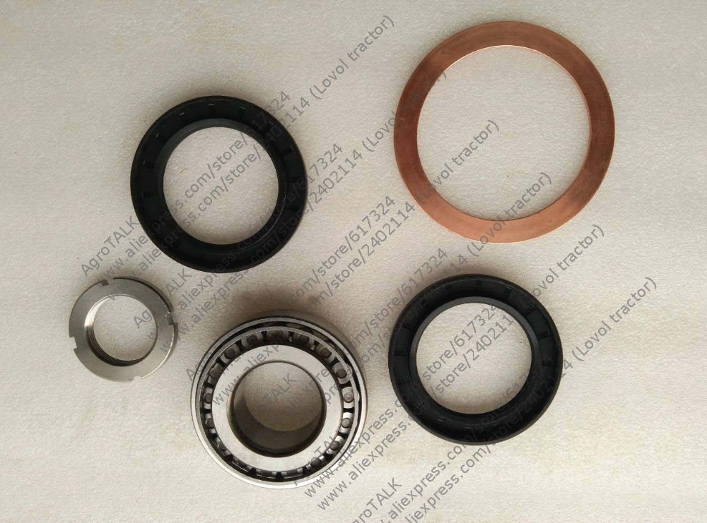 Foton FT454 Luzhong LZT454 tractor, the customerized set of repair kit for front drive б у foton bj1049