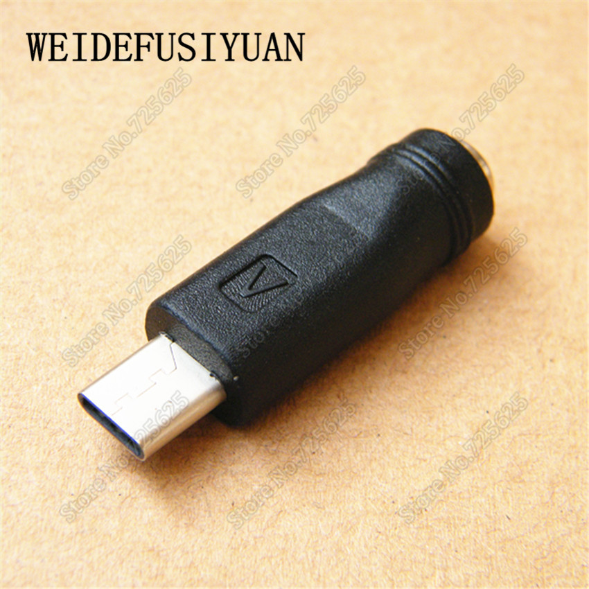 50-100PCS DC POWER PLUG SOCKET 5.5x2.1 To 3.1 USB PLUG PORT TYPE-C USB CONNECTOR CHARGE PORT