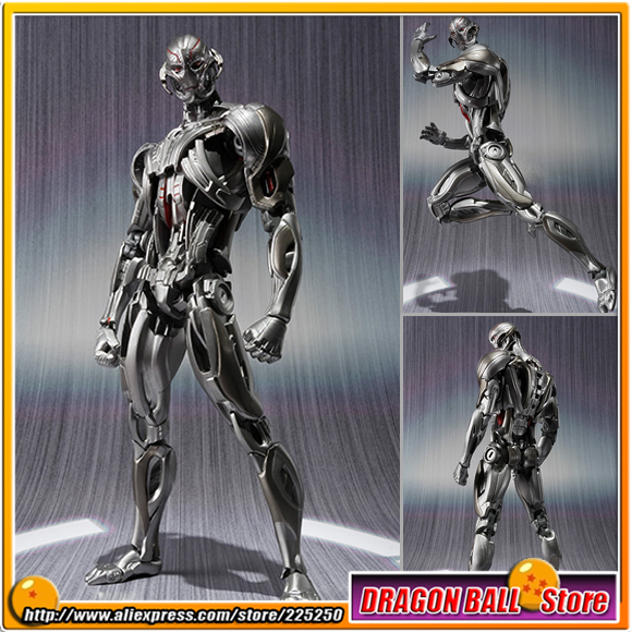Avengers 2 Age of Ultron Original BANDAI Tamashii Nations S.H.Figuarts / SHF Exclusive limited Edition Action Figure - Ultron фигурка planet of the apes action figure classic gorilla soldier 2 pack 18 см