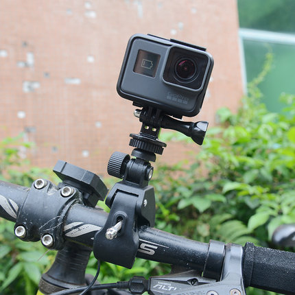 Crelander Sports Action Cam Accessories Quick Clip Handlebar Knob Mount Tripod Adaptor for EKEN H9 Gopro Xiaomi Action Camera ...