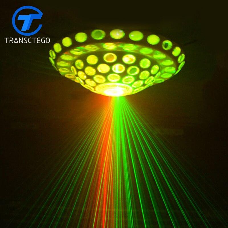 stage lamp Laser pattern lamp KTV flash Dance hall wedding bar dyeing rotating light