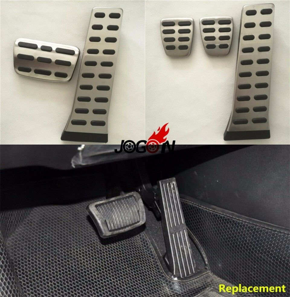 Stainless Steel Car Pedals Cover Set For KIA K5//K7//Sportage R//Sorento MT