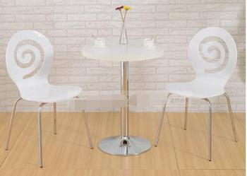Sweet shop milk tea shop chairs reception tables and chairs negotiations