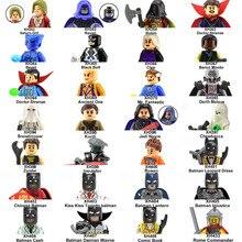 20PCS/lot Batman Robin Super Heroes Star Wars Snowtrooper Rome Commander Building Blocks Bricks Toys for Children