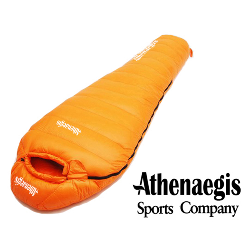 Athenaegis White Goose Down 1200G Filling Spliced Adult Comfortable Sleeping Bag Sac De Couchage Slaapzak Lazy