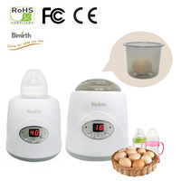 New 3 in 1 Baby Bottle Warmer Steam Sterilizer Baby Food Heater Multifunctional Electronic Mechanical Rapid Heating Screen
