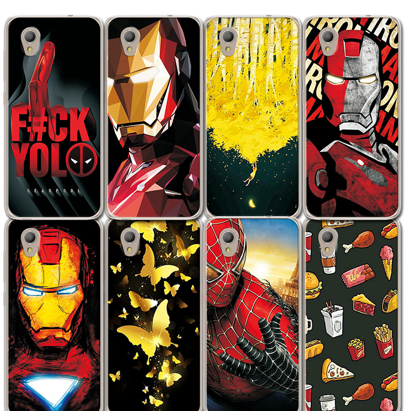 Phone Bags & Cases Enthusiastic Novelty Avengers Painted Phone Bags For Alcatel 5033d Case Iron Man Silicone Cover Case For Alcatel 1 5033d 5033a 5033y 5033x Good Taste