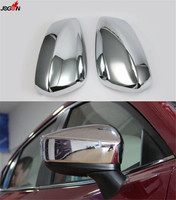 Rearview Mirror Cover For Mazda3 Mazda 3 Axela 2014 2017 Rear View ABS Chrome Trim
