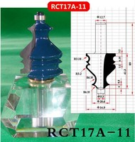 Industry Quality Carbide Wood Working Line Shape Molding Router Cutter Bits V Groove