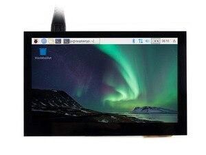 Image 2 - 4.3 polegada tela de toque capacitivo ips lcd hdmi interface suporta raspberry pi bb preto banana pi multi mini pces multi sistemas etc