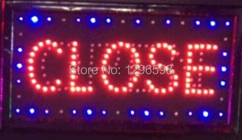 Free Shipping Animated Motion Running LED Business  Shop LED  Flashing Board Business Light Sign LED Advertisement billboard