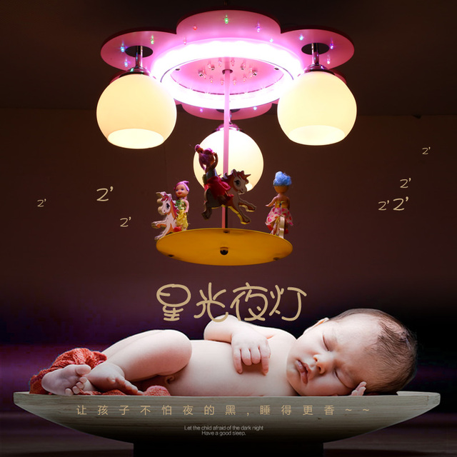 Modern Cartoon Ceiling Light Kids Bedroom Bulb Light Fittings Led - Boys bedroom light fitting
