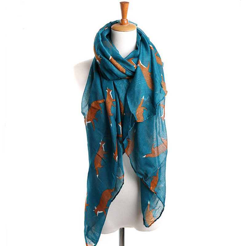 buy wholesale animal print scarves from china