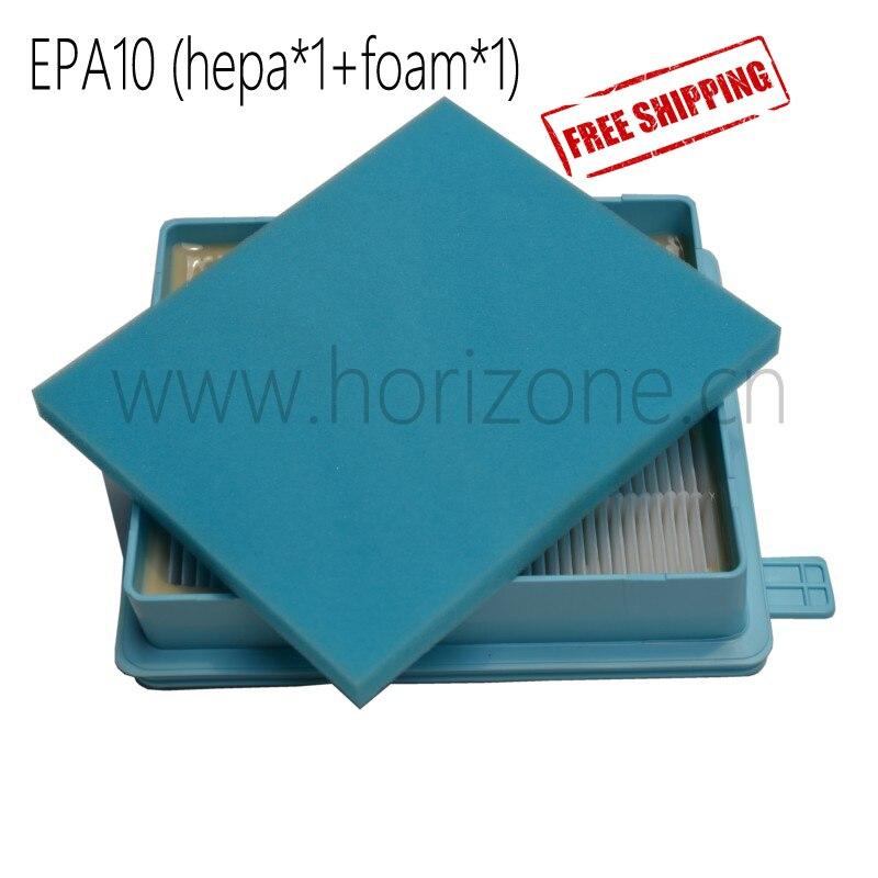 Filter HEPA  Kit for Philips FC 8058/01 Filter   HEPA 10 FC9320 - FC9329  FC8630-8639,FC8640-8649,FC8470-8479 пылесос philips fc8383 01 2000 375вт пылесб 3л hepa