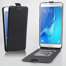 High Quality Fashion Leather Flip Case For Samsung Galaxy J7 (2016) J710 J710F Smartphone Wallet Stand Cover With Card Holder