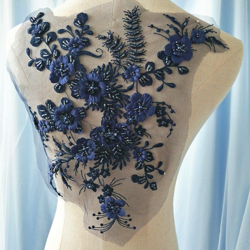 9color 3d Wedding Dress Applique Diy