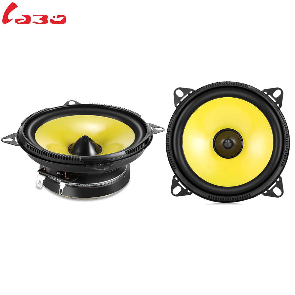 LABO LB-PS1401S Car Speakers 2 Pcs 4 Inch Quality Super Car Speaker Auto Audio Music Stereo Full Range Frequency Loudspeaker