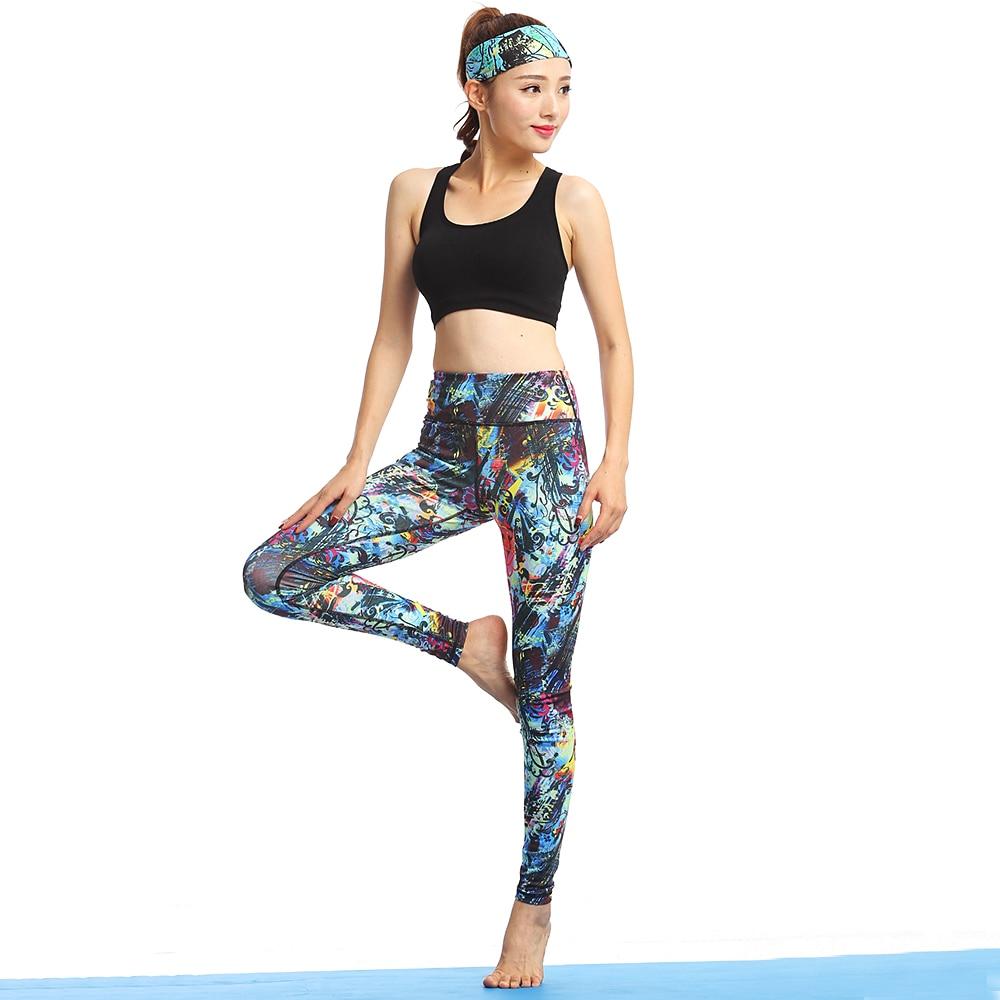 Vrouwen Yoga Sport Sets Gym Workout Sportkleding Pak Elastisch - Sportkleding en accessoires - Foto 4