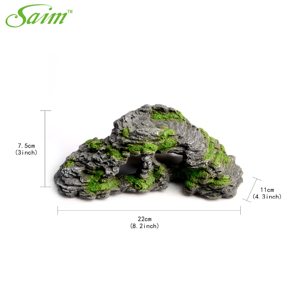 Artificial stone fish tank aquarium decoration acuarios for Artificial decoration