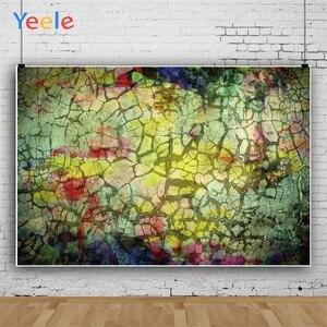 Image 3 - Yeele Grunge rétro fissure décoration mur bébé personnalisé fête fonds photographiques fonds de photographie pour Studio de Photo