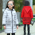 2017 Moda Infantil jaquetas casacos de Algodão-acolchoado winte das meninas Primavera/outono/inverno crianças jaqueta casaco outerwear 110-160