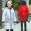 2017 Niños de La Manera del invierno chaquetas abrigos de Algodón acolchado niñas de Primavera/otoño/invierno niños chaqueta de abrigo prendas de vestir exteriores 110-160